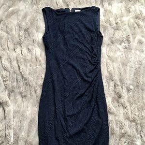 CACHE Navy Blue Bodycon Dress